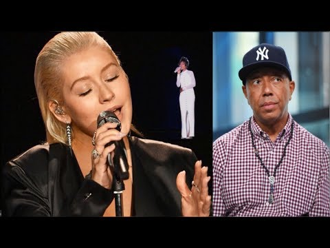 Cristina Aguilera's Whitney Houston Tribute Wasn't Wack Russell  Simmons Dating A 17 Year Old..