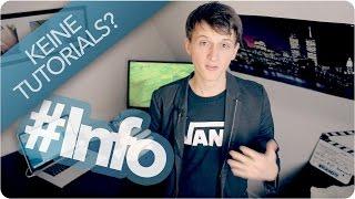 Keine Tutorials! | FAQ | Info Video [Lucas Kaminski Streetmagic]