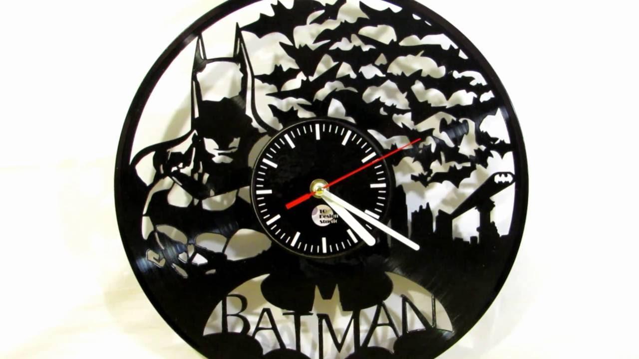 To Design Studio Batman Vinyl Record Wall Clock Review