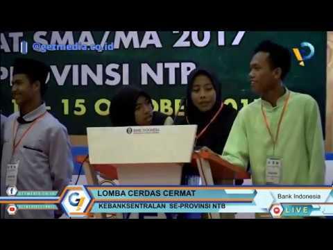 PEYISIHAN LOMBA CEDAS CERMAT BANK INDONESIA NTB 2017