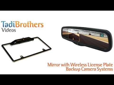 Wireless Rv Backup Camera System With 2 Cameras And