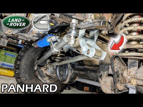 4BT Cummins Discovery #41 × Fabricating Panhard Bracket [Land Rover Build]