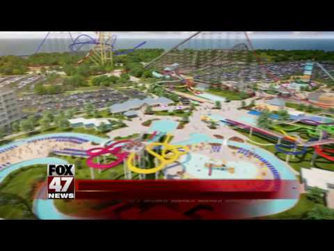 Watch video animation showing off new Cedar Point Shores Waterpark