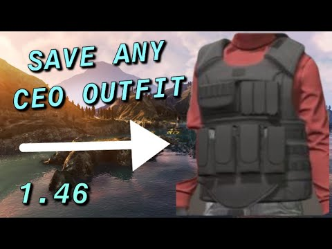 *EASY* GTA 5 ONLINE HOW TO SAVE ANY CEO OUTFIT GLITCH WORKING 2019 (Update 1.46)