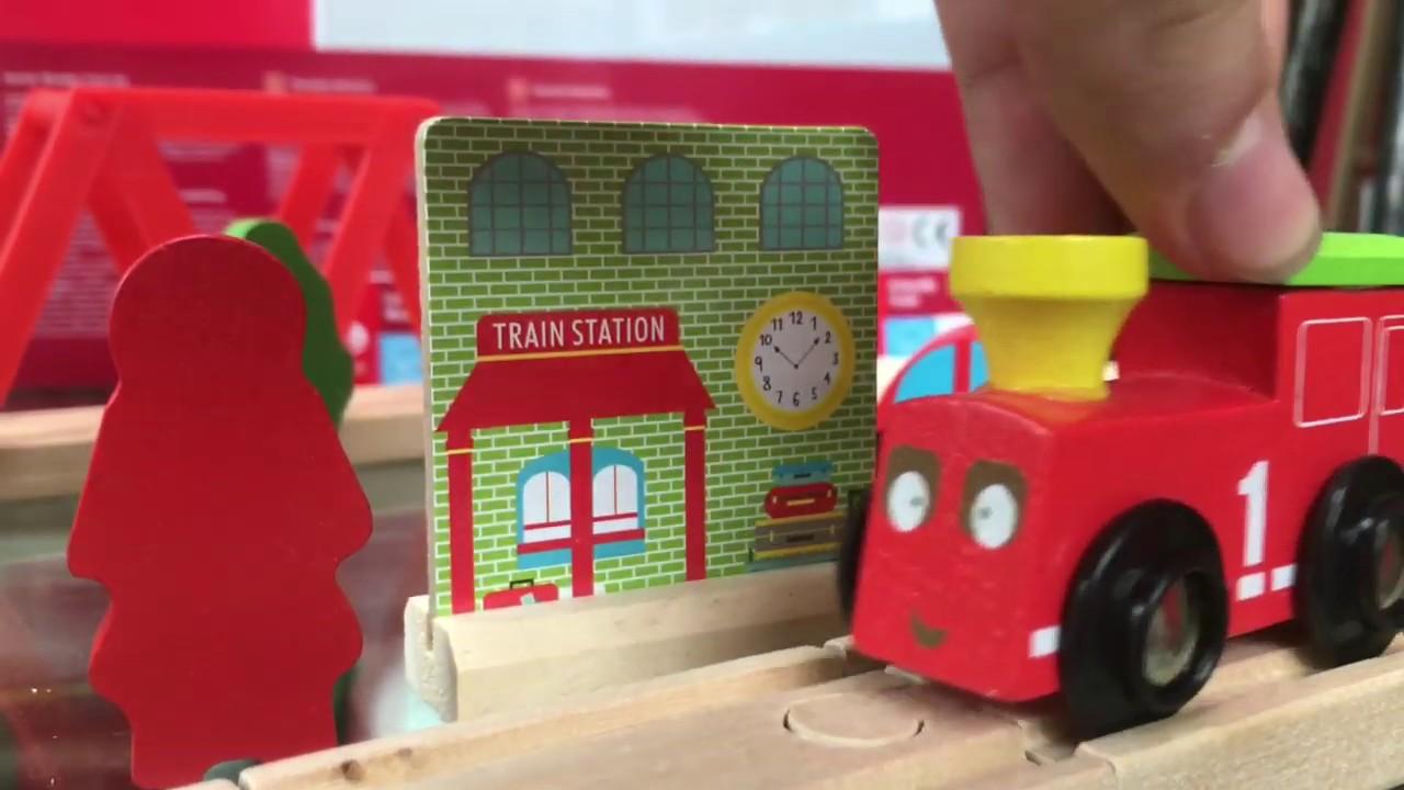 Carousel Wooden Train Starter Set Tim Toots Speedy Sam Super Sid Thomas Brio Elc Compatible