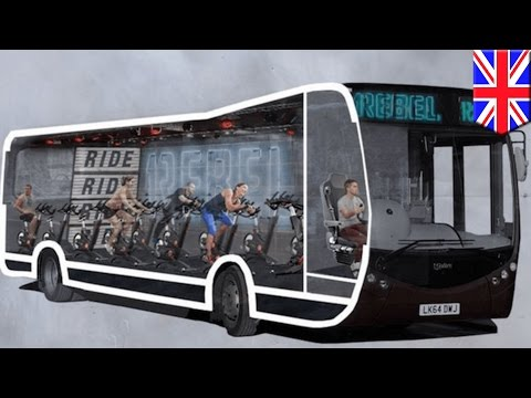 Spinning class on wheels: London gym to convert commuter bus into roving spin class - TomoNews