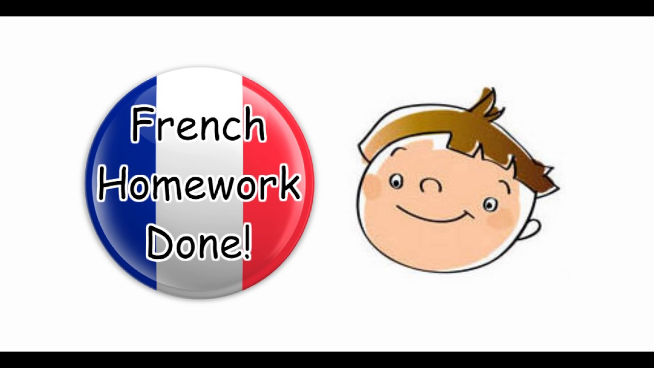 French homework help