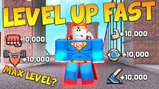 tips to upload everything in Super Power Training Simulator (Roblox)