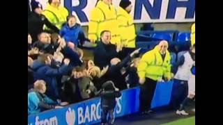 Dad Makes His Son The Youngest Ever Pitch Invader At Everton