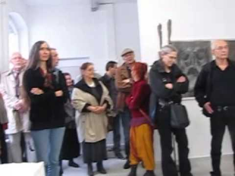 Hrdlicka Andenken Eröffnung Galerie Gieserei Flielrl 10.5.2014
