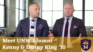 Northwestern King Brothers Take Leap of Faith in Career Transition