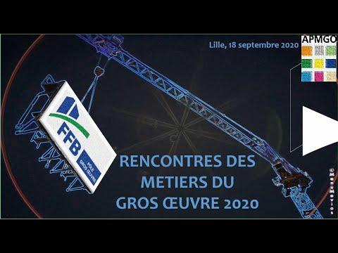Rencontres des métiers du gros œuvre Lille 2020