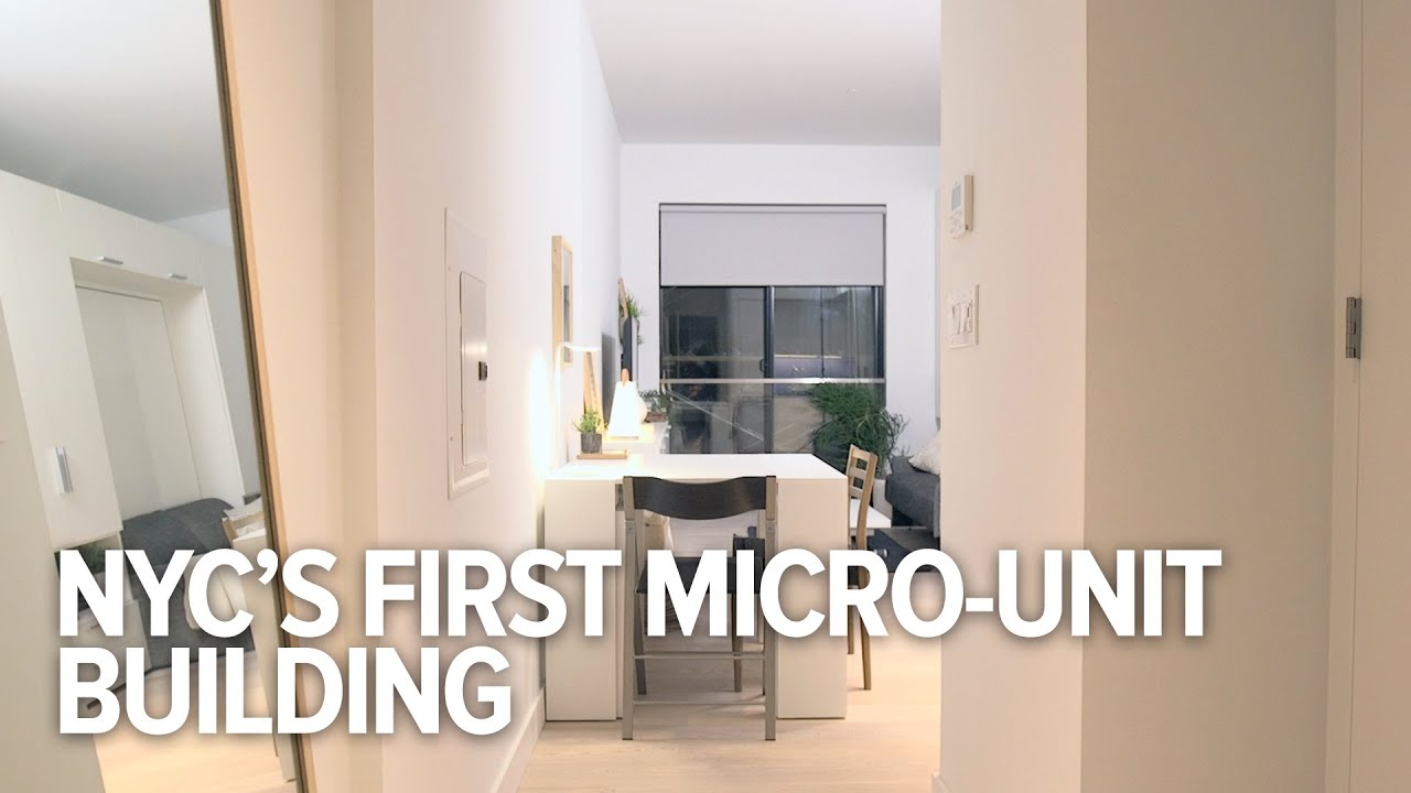 Can These Micro-Units Fix New York City\'s Housing Problems? - YouTube