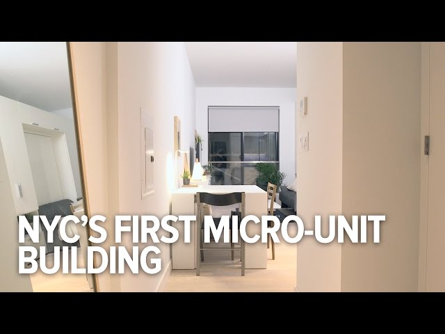 Can These Micro-Units Fix New York City\'s Housing Problems?