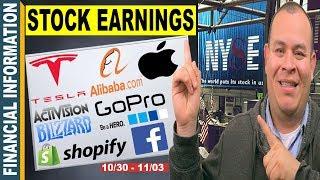 October Stocks Earnings📊| Tesla, Apple, Shopify, GoPro, Alibaba, Activision Blizzard, Qualcomm OLED