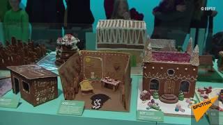 Конкурс имбирных пряничных домиков в Стокгольме