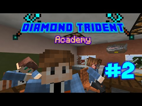 Minecraft: Diamond Trident Academy - The Fight?! (Ep2)