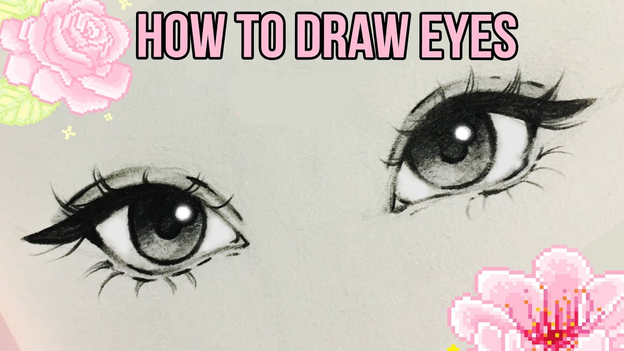 How to Draw Eyes ♡ | by Christina Lorre' #1