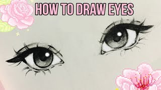 How to Draw Eyes ♡ | by Christina Lorre