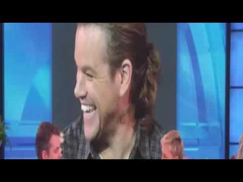 Matt Damon Interview On Ellen Show