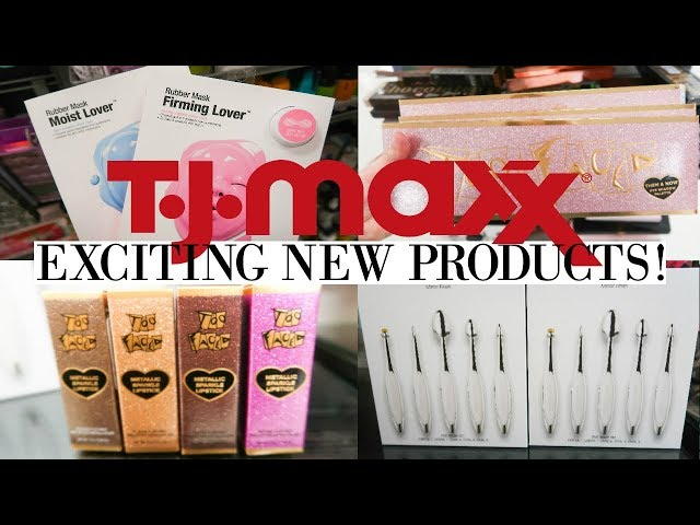 TJ MAXX SHOP WITH ME | VERY EXCITING NEW PRODUCTS! | TOO FACED, ESTEE LAUDER, SHISEIDO | Makinze Lee