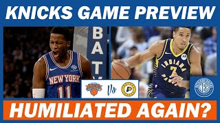 New York Knicks vs Indiana Pacers Game Preview