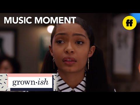 "grown-ish   season 1, episode 11 music: doug simpson - ""numb""   freeform"