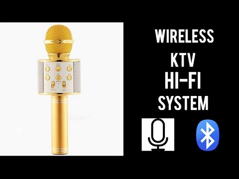 Worlds Best Wireless KTV Microphone | WS-858 Unboxing & Review
