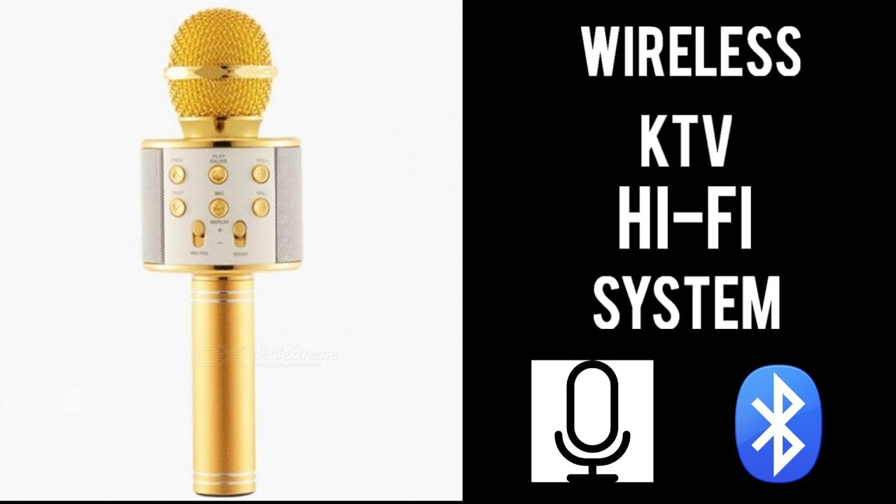 Worlds Best Wireless Ktv Microphone Ws 858 Unboxing Review Youtube Mic Bluetooth Wster Smule