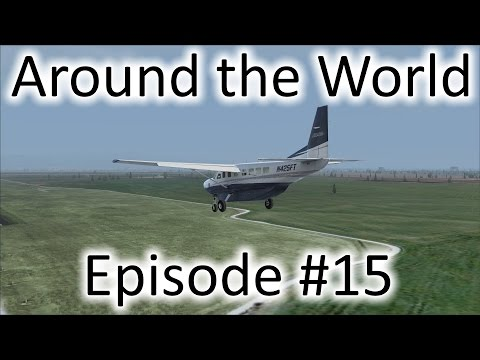 FSX | Around the World Episode #15 - Frankfurt to Bratislava