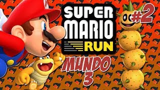 DESIERTO! Super Mario Run #2 ( Mundo 3 )