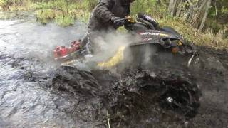 Modded Renegade and 1000cc Mudpro Mudding