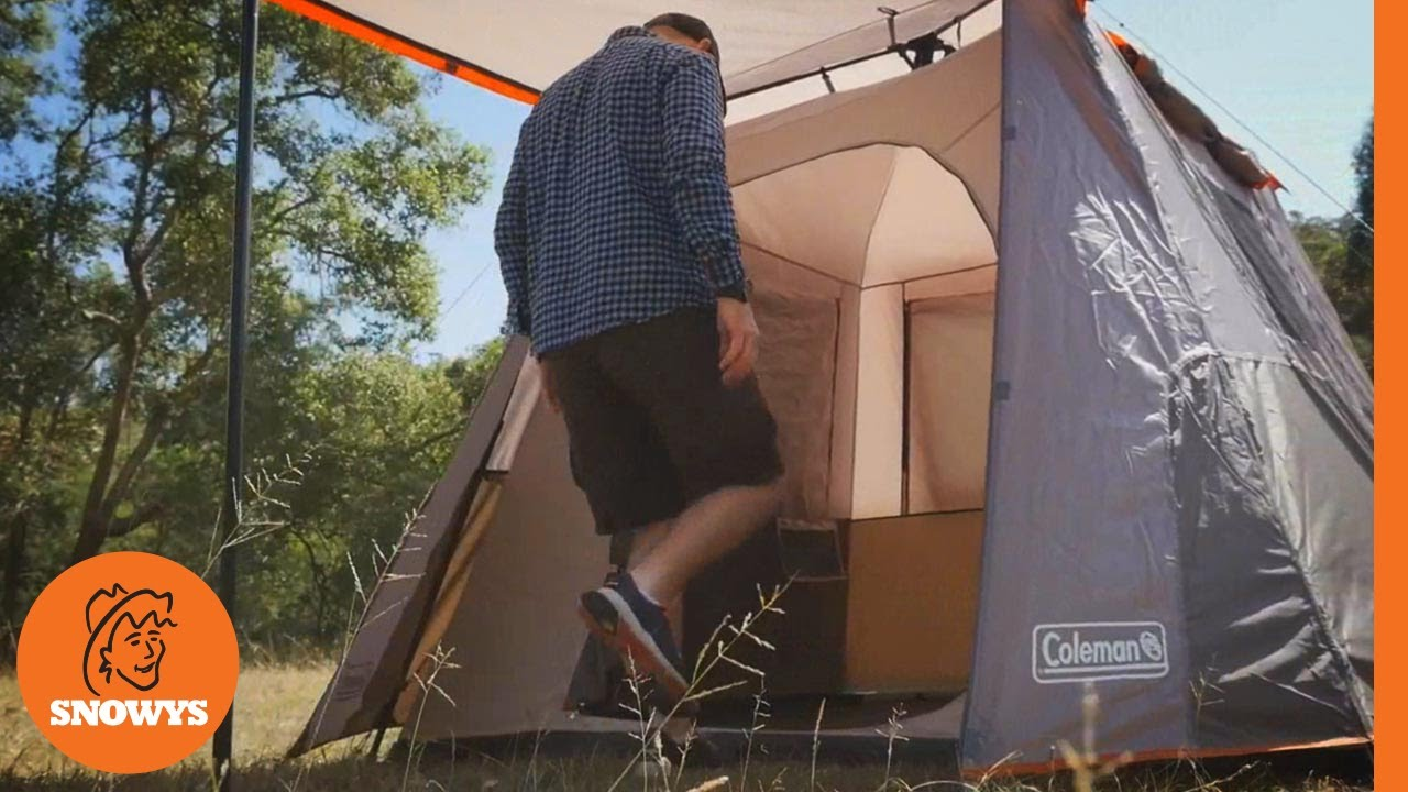 & Coleman Instant Up Tent Range - YouTube