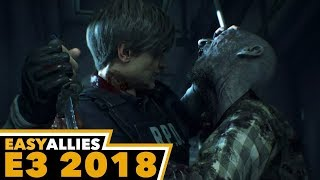 Resident Evil 2 - Easy Allies Impressions Round 2 - E3 2018