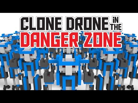 Human Robots with Laser Swords! – Clone Drone in the Danger Zone Gameplay