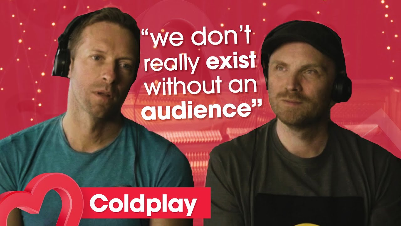 Coldplay are 'SO HUNGRY to play for people' | Heart
