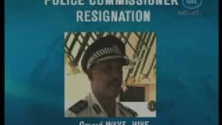 SBC Seychelles: Police Commissioner Resigned  15.01.09