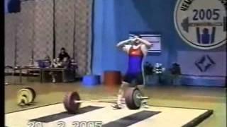 Клоков Дмитрий Dmitry Klokov 442.5kg Total in 2005
