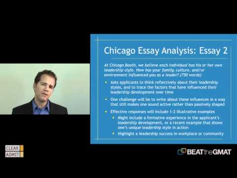 chicago mba essay questions 2011 Booth mba interview questions i intro  iii insights from past chicago booth mba interviewees take booth at it word it is a conversation not an interview they really just want to get to know you more  we spent about 20 minutes on general mba type questions and a final 10 minutes of me asking questions we were chatting so much the.