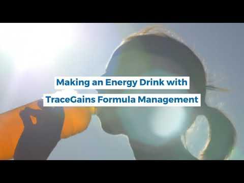 Formula Management - Make an Energy Drink