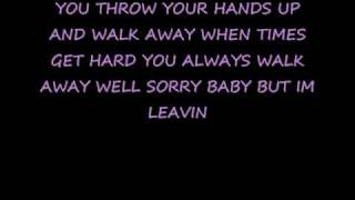 P!NK-WALK AWAY *LYRICS