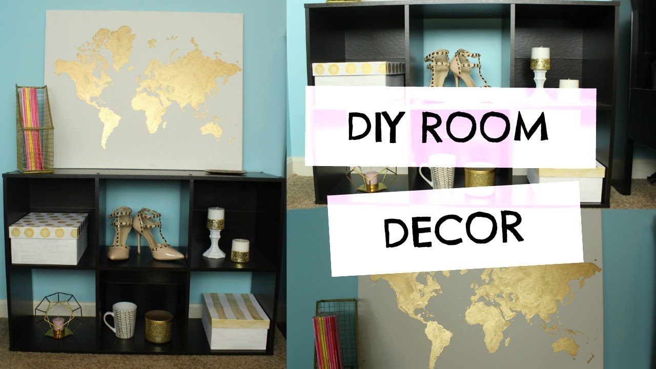 diy room decor looks for less carly elizabeth youtube