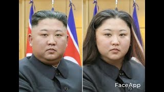 【Face App】各国首脳の性別を変えてみた。/Changing the gender of each country's leaders.