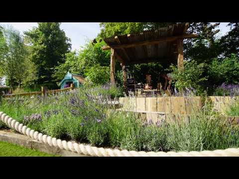 THE LAVENDER GARDEN | Hampton Court Flower Show 2016