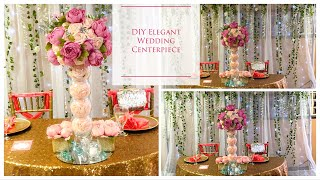DIY Tall Elegant Wedding Centerpiece | DIY Wedding Centerpieces | DIY Tutorial |DOLLAR TREE!!!