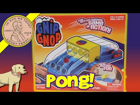 Gnip Gnop Family Game, It's Ping Pong Backwards!
