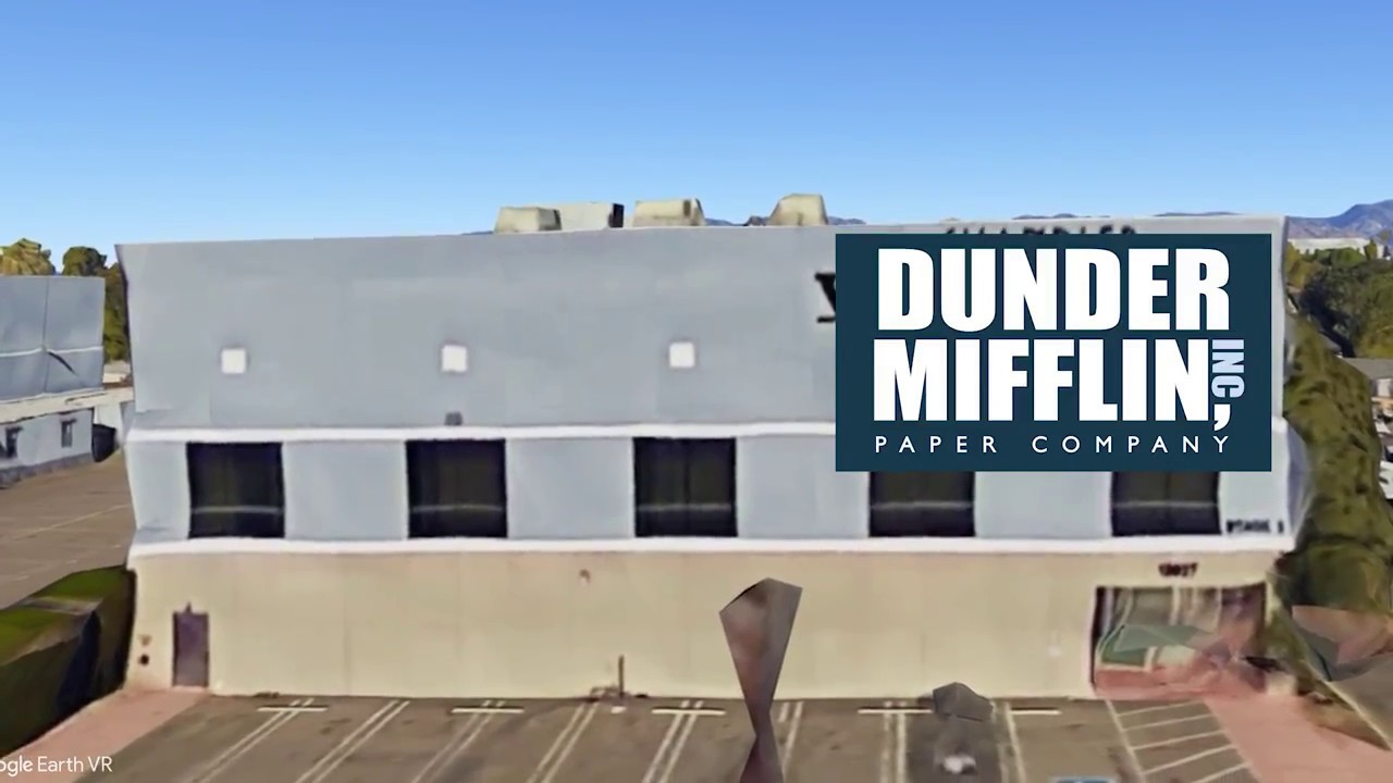 Finding Dunder Mifflin From The Office In VR! - YouTube
