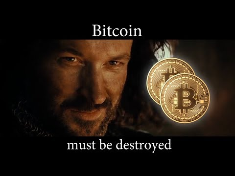 Bitcoin Must Be Destroyed