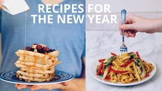 EASY VEGAN RECIPES FOR THE NEW YEAR