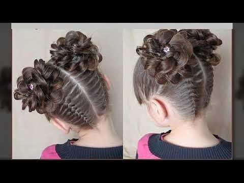 Peinados Faciles Y Sencillos Para Ninas Trenzas Youtube